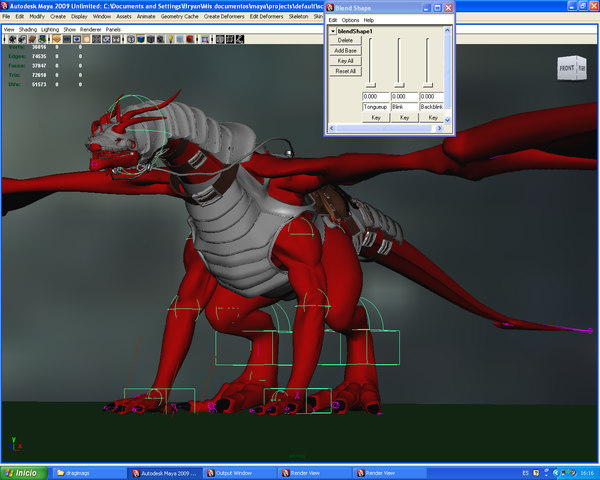 battle dragon 3d ma - Dragon... by Bryan Labarrere