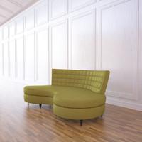 maya kidney sofa