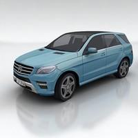 3d mercedes benz model