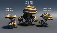 3d mushroom pack
