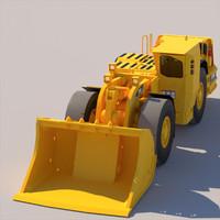 underground mining loader max
