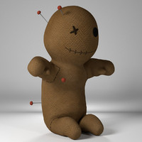 voodoo doll voodo 3d 3ds