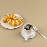 coffee croissants