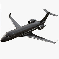 Bombardier Challenger 850 Private Black