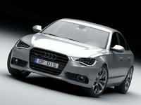 3d model audi a6 2012
