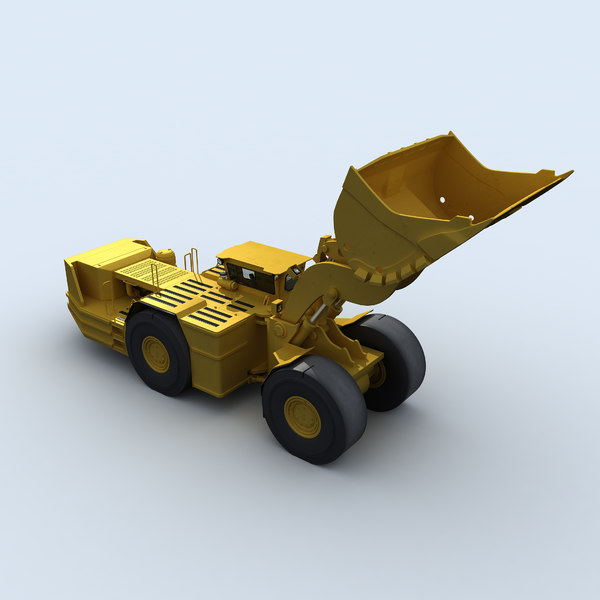 maya mining underground - Underground Mining Vehicles Pack... by RippleDesign