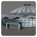 circus buildings 3d fbx