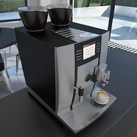 jura coffee machine 3d model