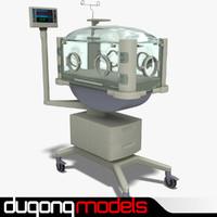 3d model dugm04 incubator