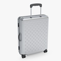 3d model suitcase luggage case