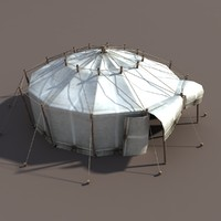 Circus Tent White
