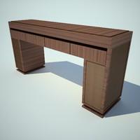 ceccotti collezioni table 3d model