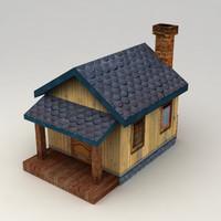 rural house 1 3d max