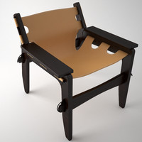 chair sergio rodrigues 3d max