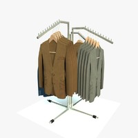 3d clothes jackets model