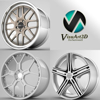 dforged rims 3d model