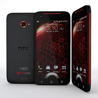 3d model htc droid dna smartphone