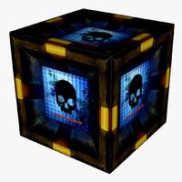 Grungy Sci-fi Box