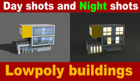3d model of night