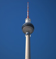 tv tower berlin 3d max