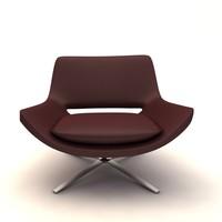 3ds metropolitan armchair