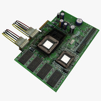 circuit board component 3ds