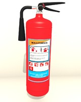 free 3ds model extinguisher
