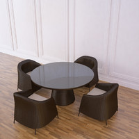 3d kingstone dining table set