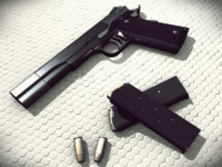 Colt M1911 collection: Silverballers and the punisher M1911