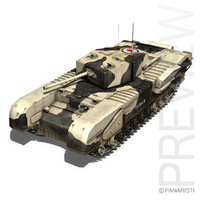 Churchill MK.III Kingforce