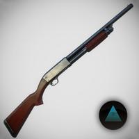 M37 Ithaca Shotgun