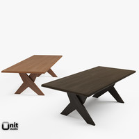 x table maxalto 3d model