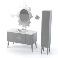 oasis bathroom furniture 3d model