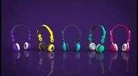 stereo headphones fbx