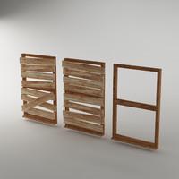 frame planks model