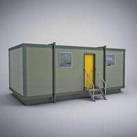 portable cabin 3d model