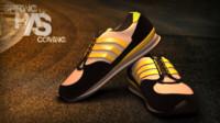 spring shoes 3d model