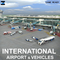 International Airport  & Vehicles