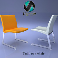 3ds tulip chair