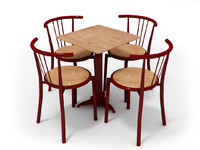 Portuguese chairs and table set