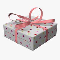 gift boxe 3d model