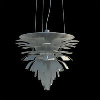 3d artichoke light