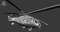 3dsmax helicopter mil mi 17