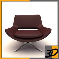 metropolitan armchair 3d model