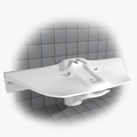 free architecture sink 3d model