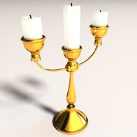 3d candlestick new candle used