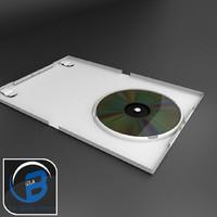 White DVD case/wii