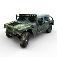 3ds max hummer h1 offroad