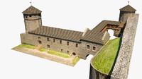 maya gate medieval castle