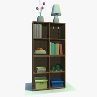 3d model cabinet decor